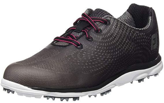 FootJoy New Women Empower Spikeless gold shoe: